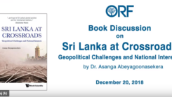 """New book """"Sri Lanka at Crossroads"""" published by World Scientific Singapore was released few weeks ago"""